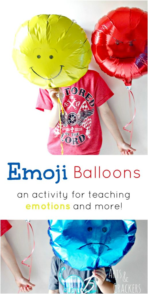 Here is a fun balloon activity for teaching emotions and other lessons | Balloons | Emojis | Emotions | Moods | Kid Activities | Education | Learning | Emoticons