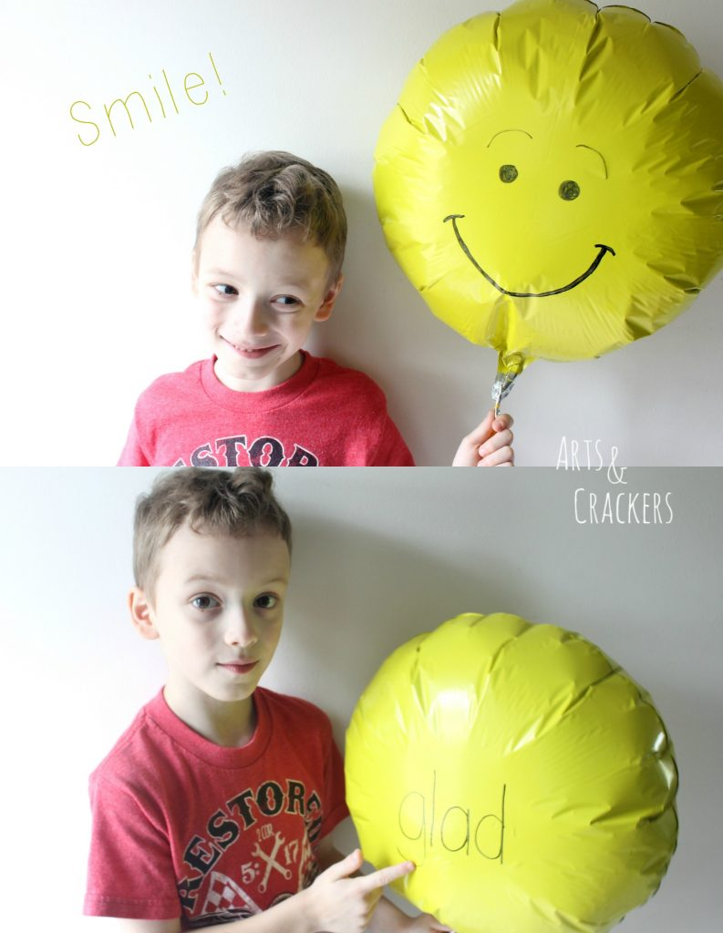 Emotions Balloons Glad Happy Face