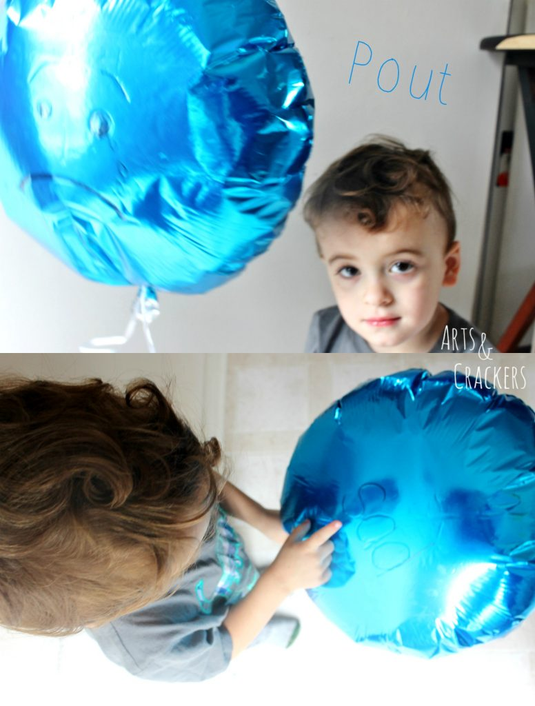 Emotions Balloons Sad Face