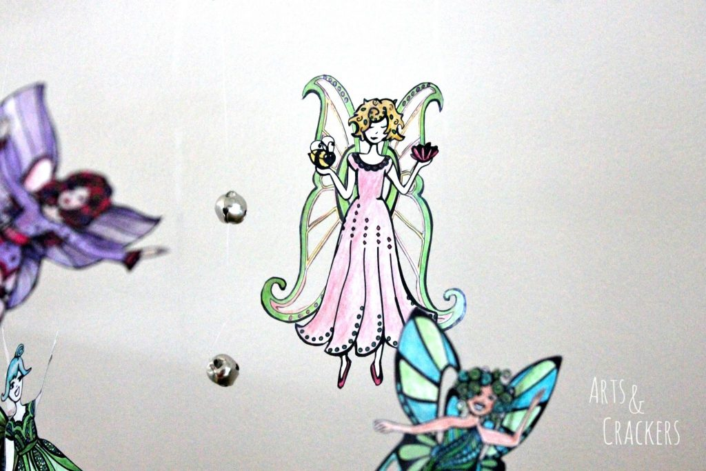 Fairy Mobile Close Up