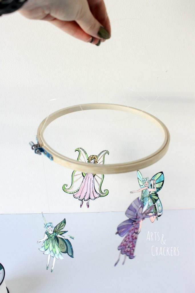 Fairy Mobile Step 5