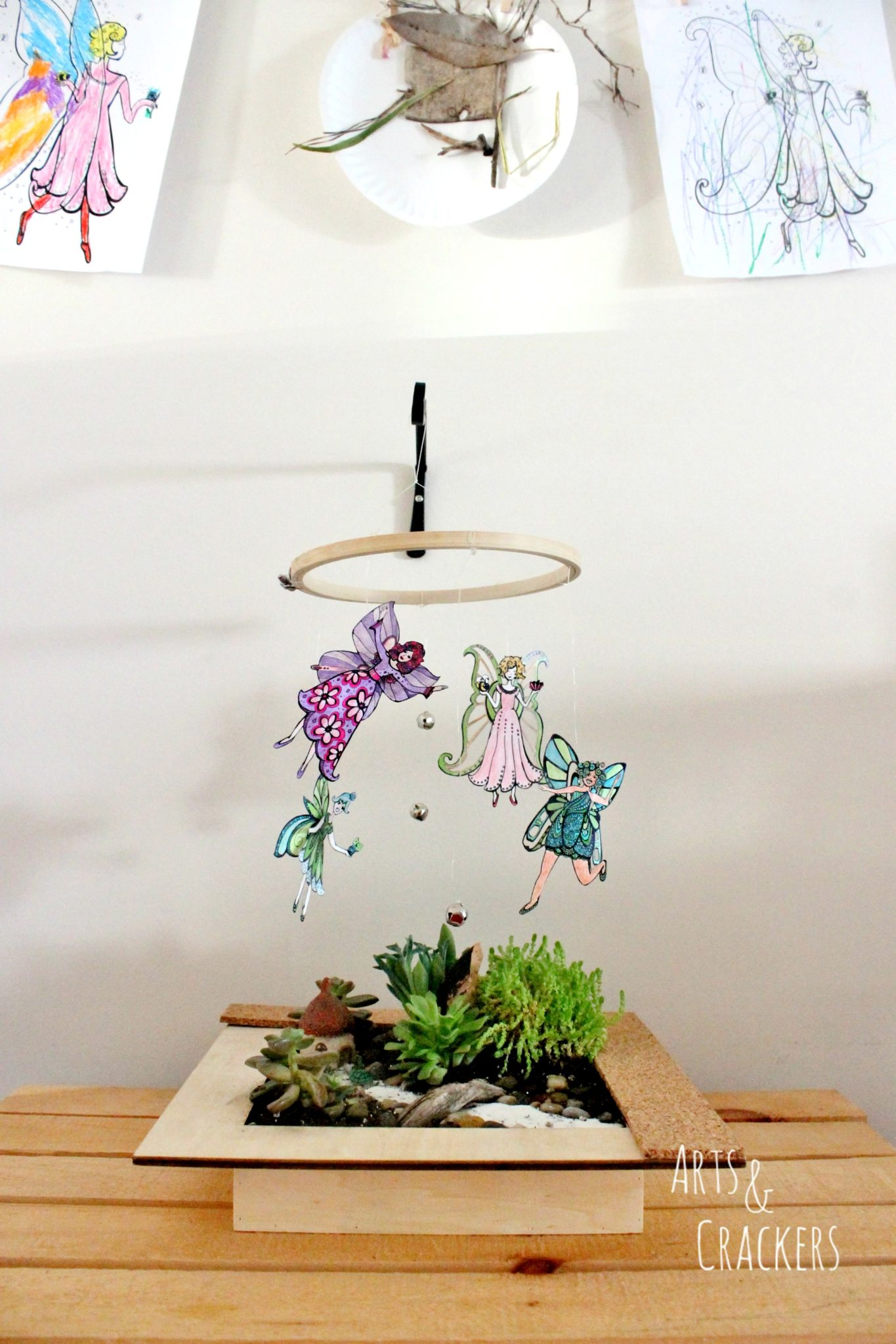 Fairy Mobile And Art Wall