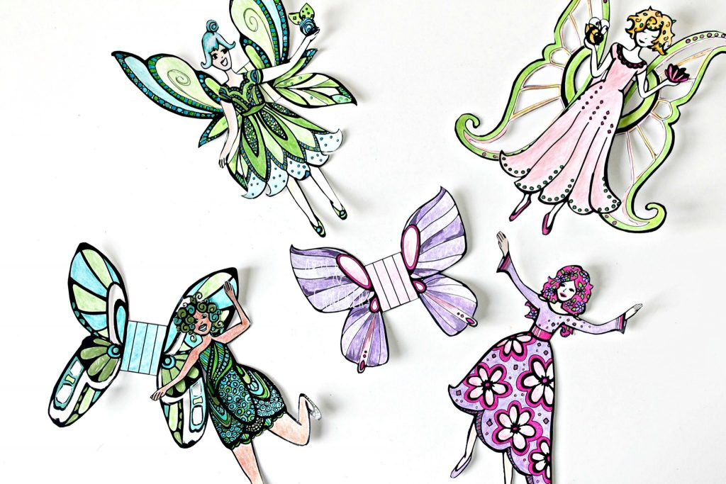 Fairies 3D Cut Out