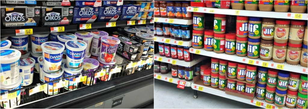 Jif and Dannon in store