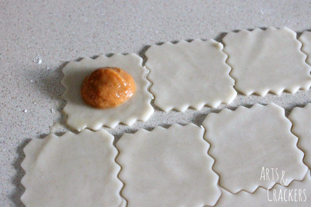 Pumpkin Pie Ravioli Step 5