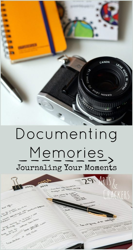 Documenting Memories Journaling Moments