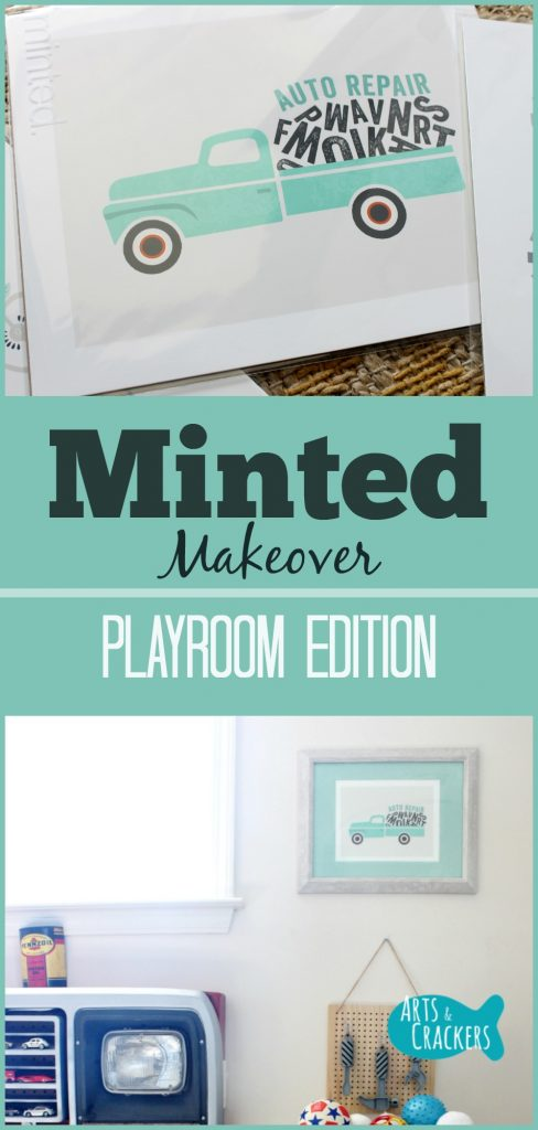Playroom Makeover Sneak Peek with Minted Art Prints | Children's Room | Play Room | Home | Interior Design | Minted | Art | Kids | Home Decorating