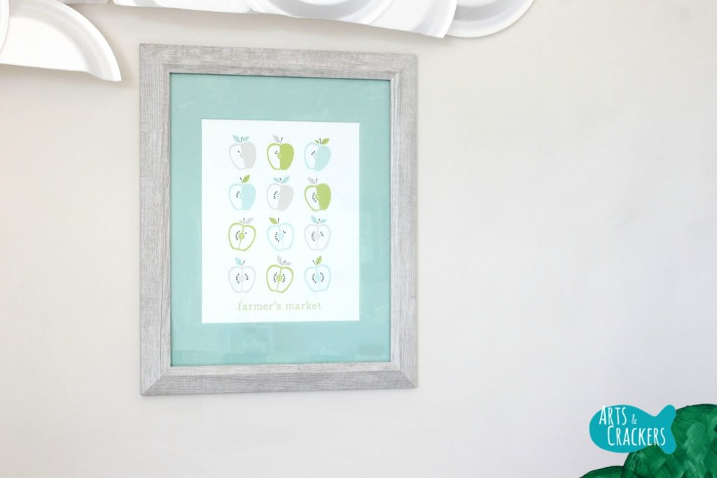 Minted Playroom Makeover Framed Prints Apples