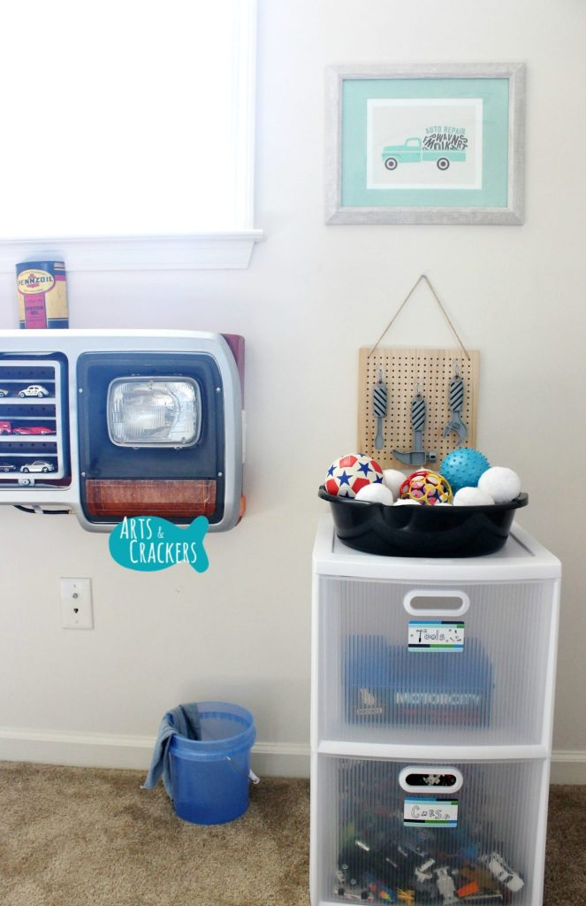 Minted Playroom Makeover Framed Prints Auto Repair Wall
