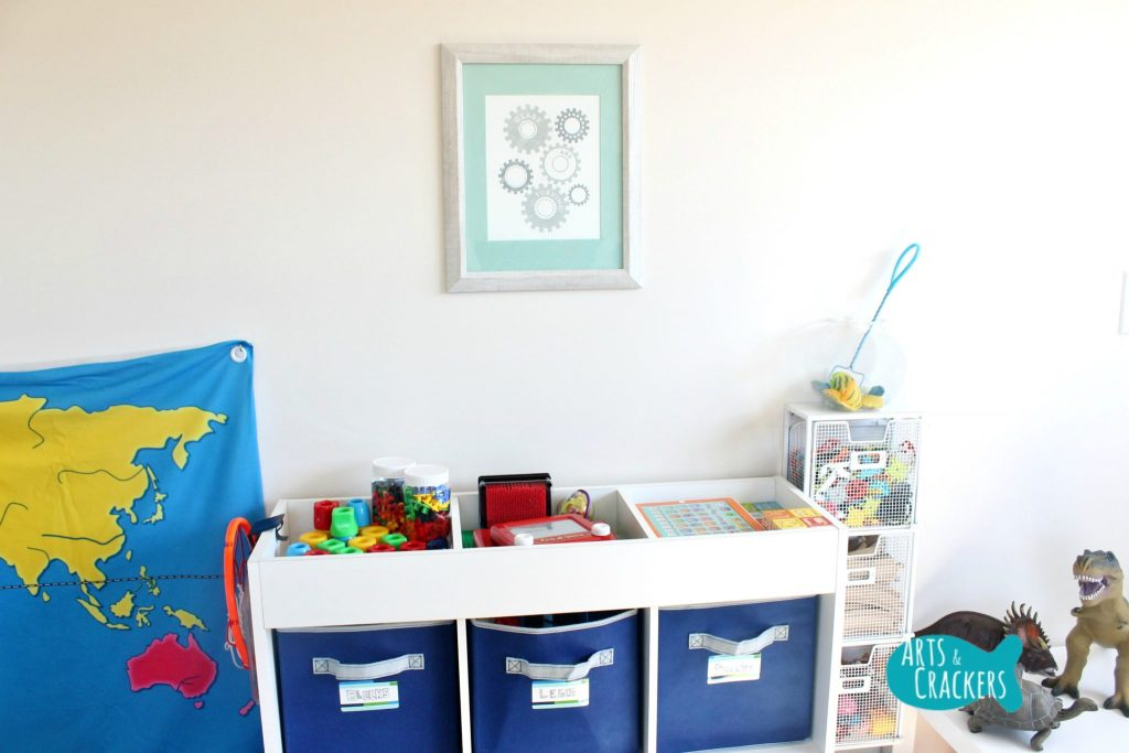 Minted Playroom Makeover Framed Prints Build and Create Wall