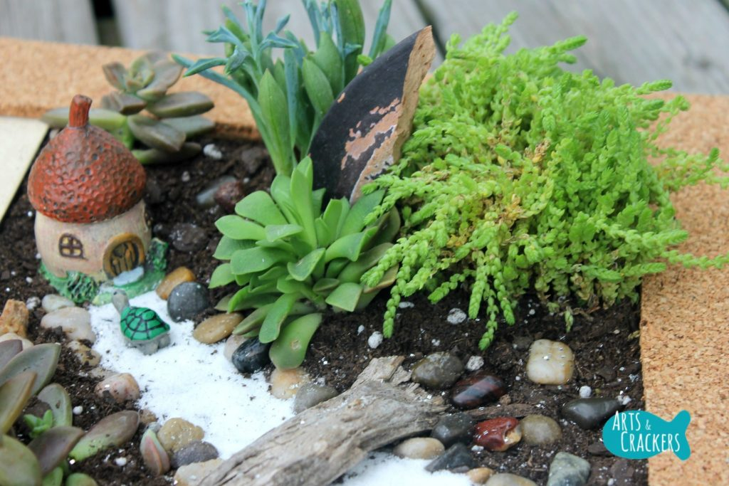 Fairy Garden Tutorial Close