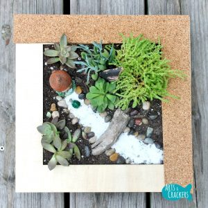 Fairy Garden Tutorial Square