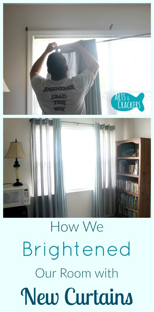 How we Brightened our Room with Curtains | Home Decor | Home Design | Decorating | Home Makeover | Curtains | Window Treatments | Windows