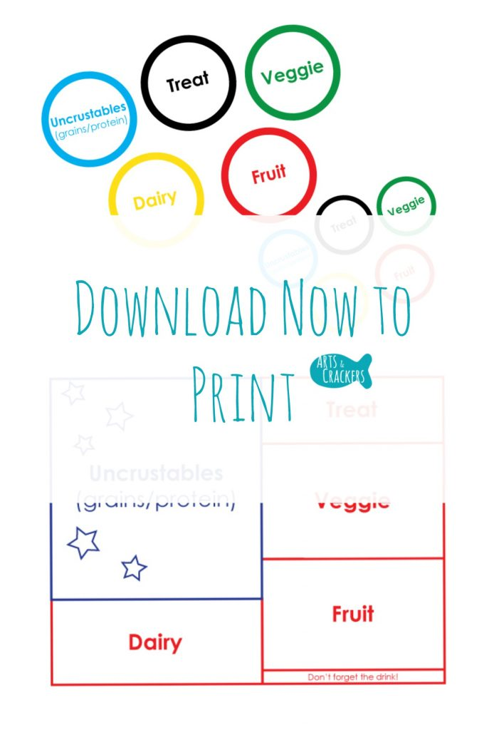 Lunch to Go Printable Help Sheets