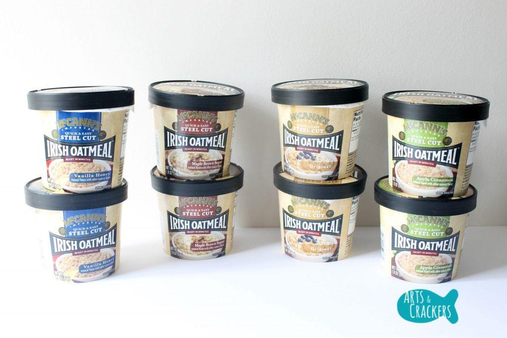 McCanns Microwavable Oatmeal