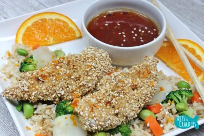 Oat Crusted Chicken
