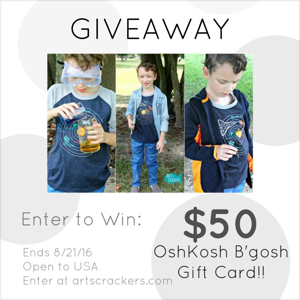OshKosh B'gosh Giveaway 2016