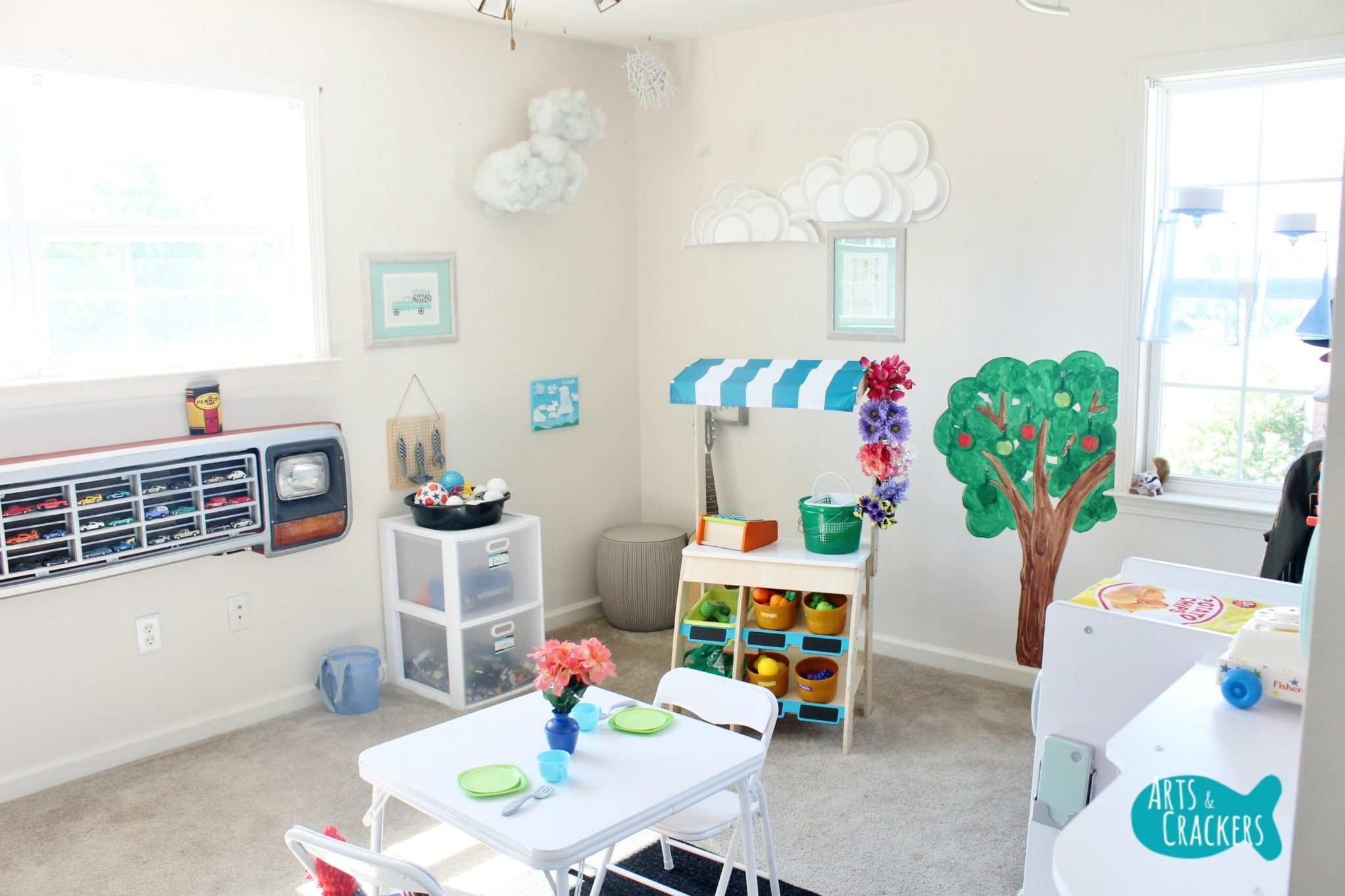 PLAYROOM MAKEOVER IN DETAIL