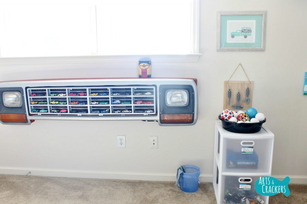 Playroom Makeover Auto Repair