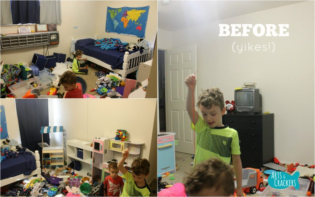 Playroom Makeover Before
