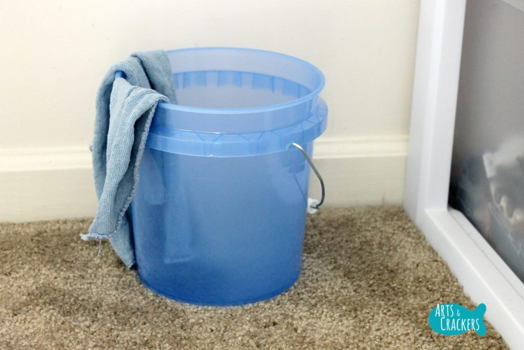Playroom Makeover Bucket