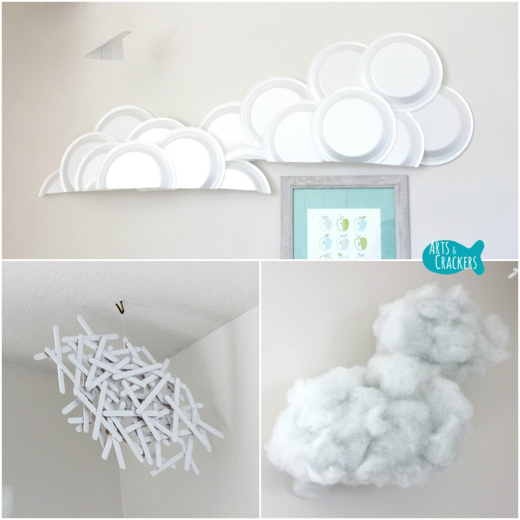 Playroom Makeover Cloud Collage