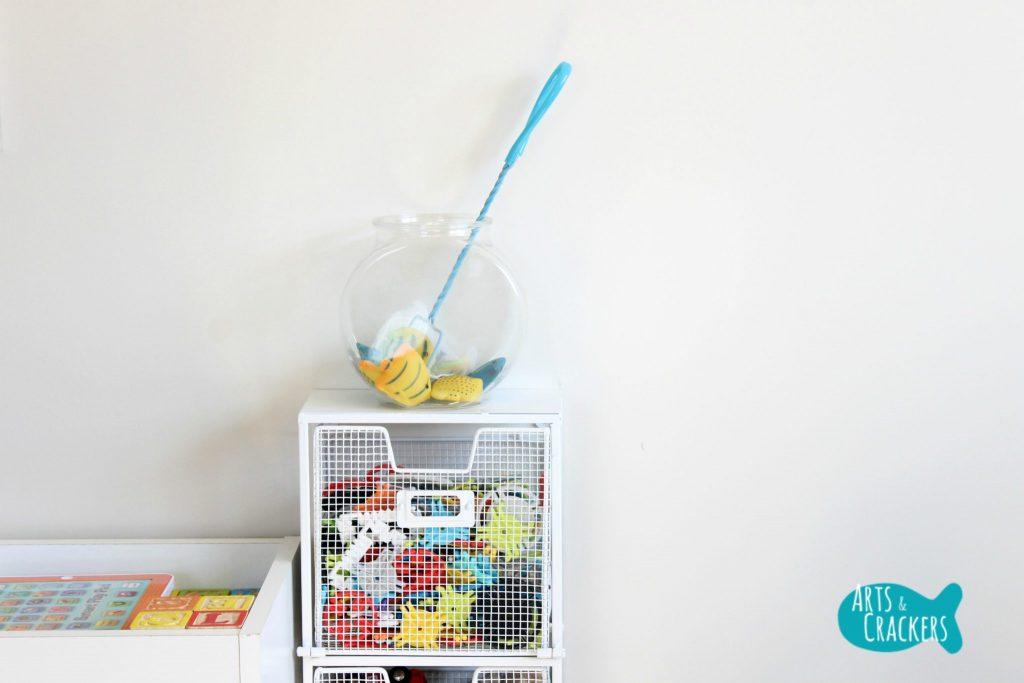 Playroom Makeover Fish Bowl