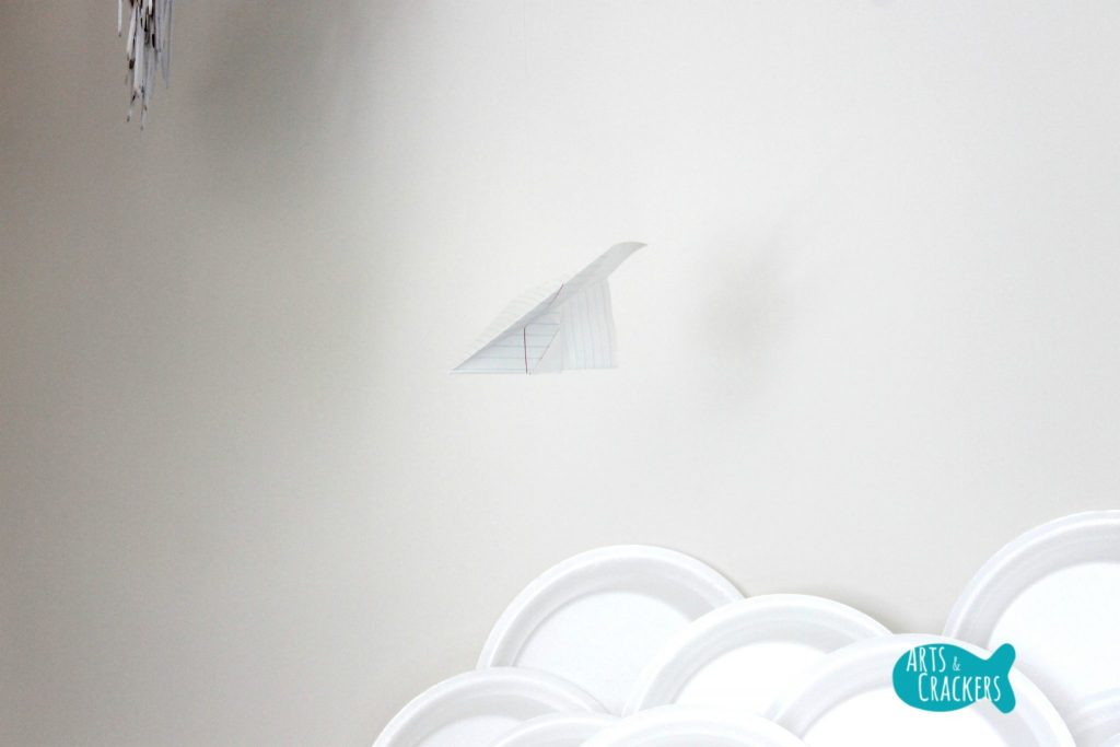 Playroom Makeover Paper Airplane