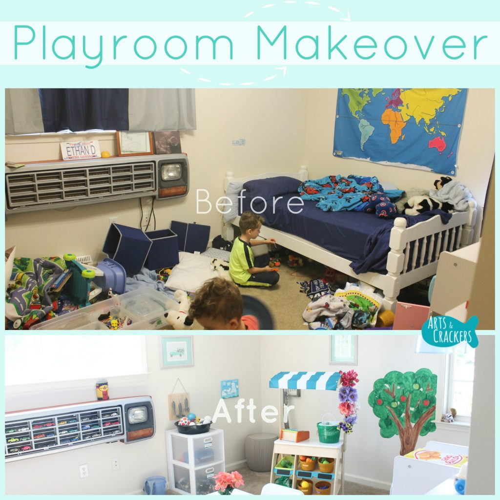 Playroom Makeover Square