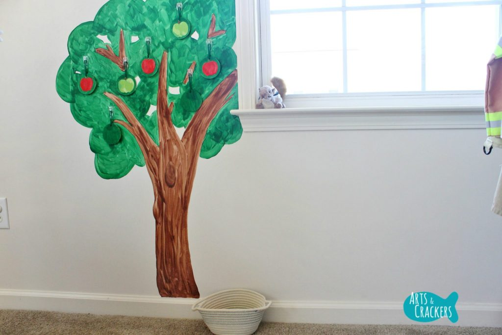 Playroom Makeover Tree