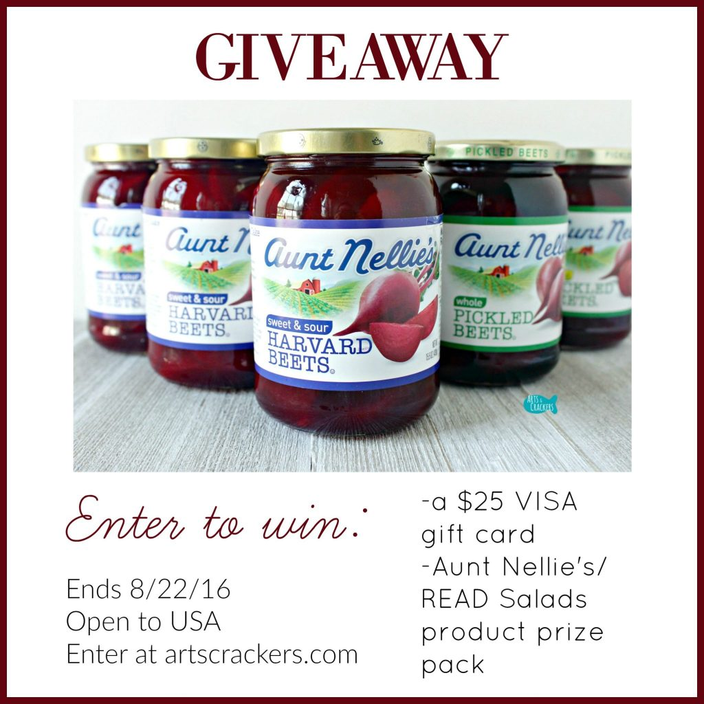 Aunt Nellie's Giveaway
