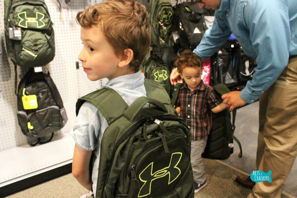 Back to School at Dick's Backpacks