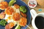Coffee Coconut Shrimp Seafood Recipe