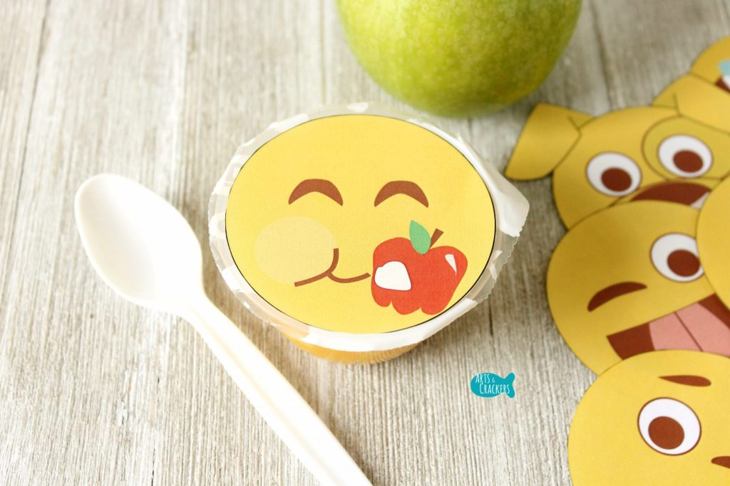 Emoji Fruit Cups Close
