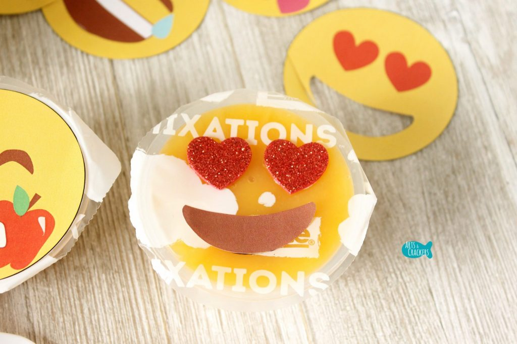 Emoji Fruit Cups Craft