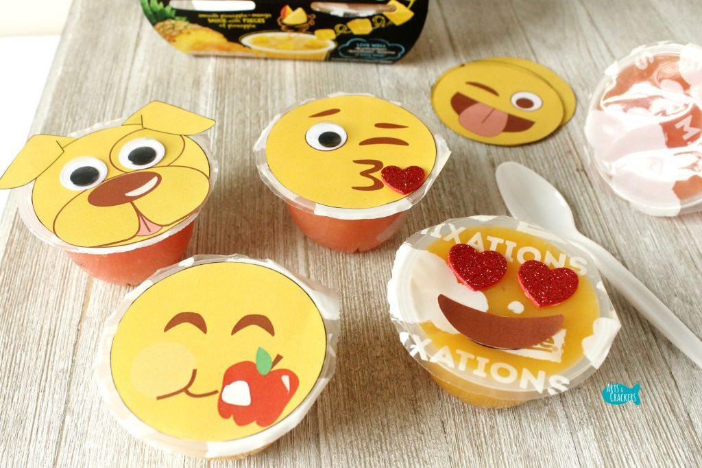 Emoji Fruit Cups Dole