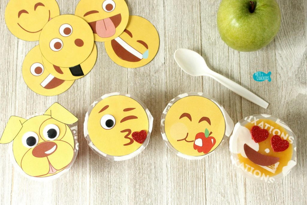 Emoji Fruit Cups Four