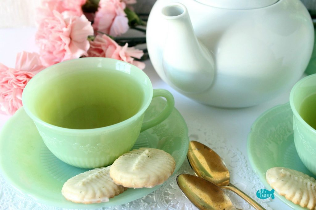 Green Tea Spritz Cookies Recipe