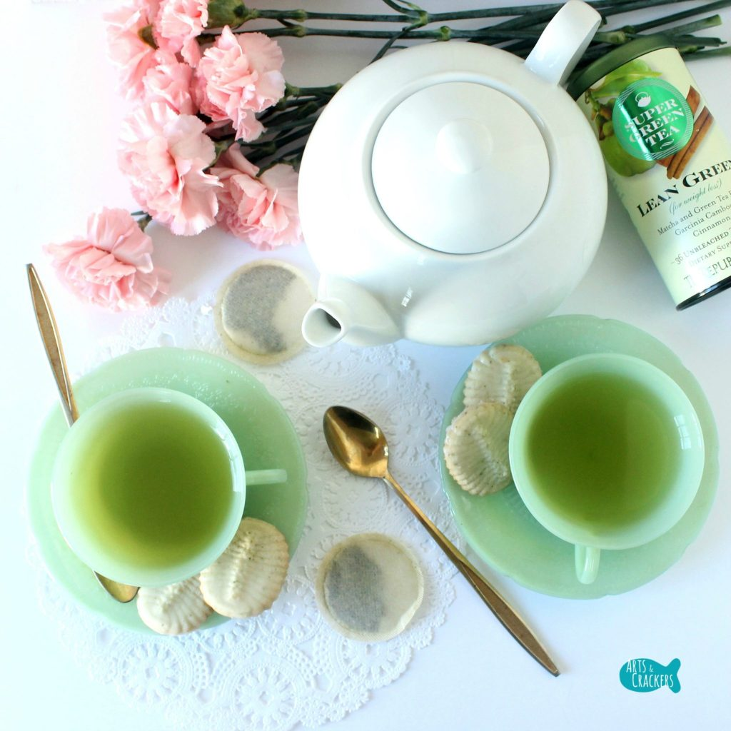 Green Tea Spritz Cookies Top Square