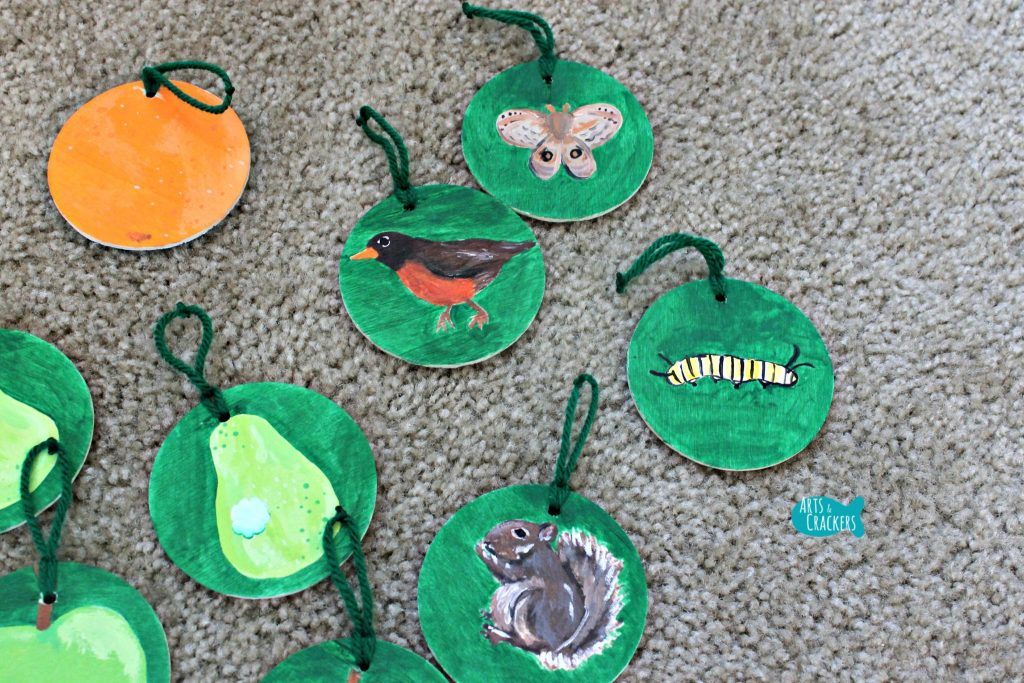 Learning Tree Hanging Pieces Close