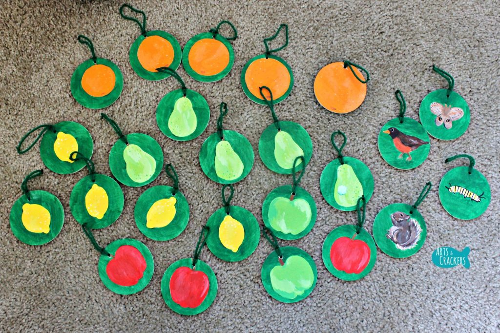 Learning Tree Pieces