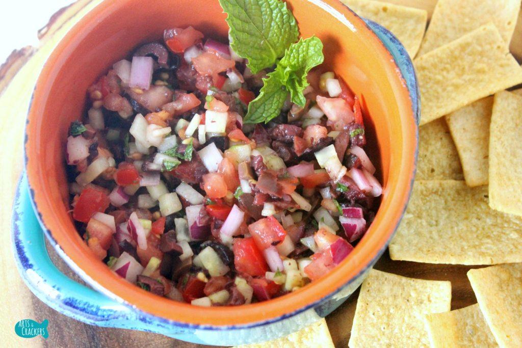 Mediterranean Salsa Relish Top