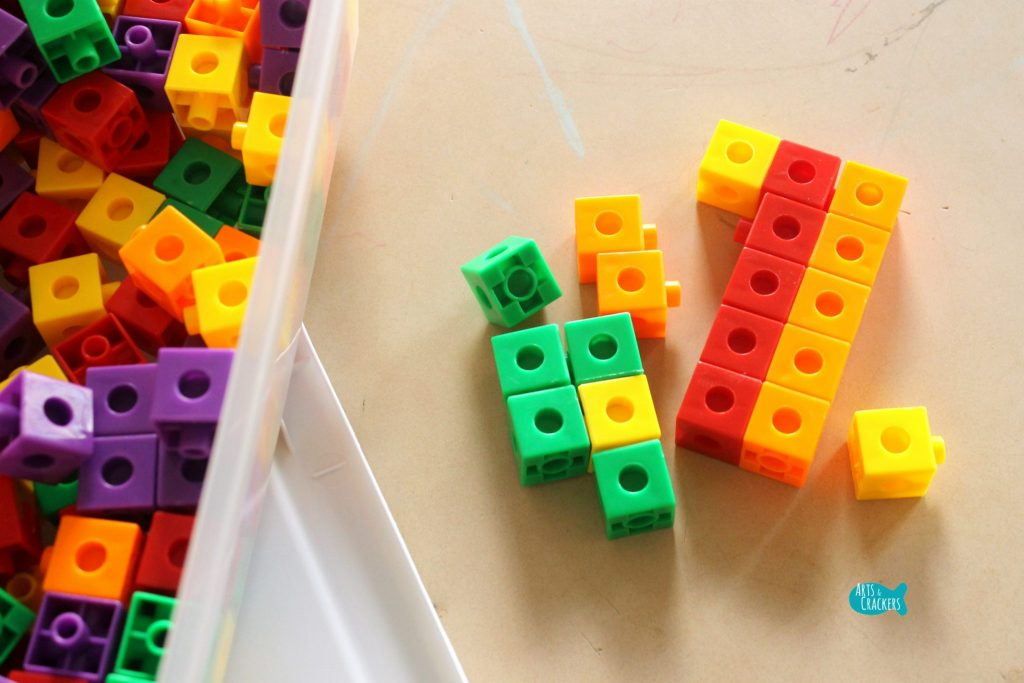 Oriental Trading Math Cubes