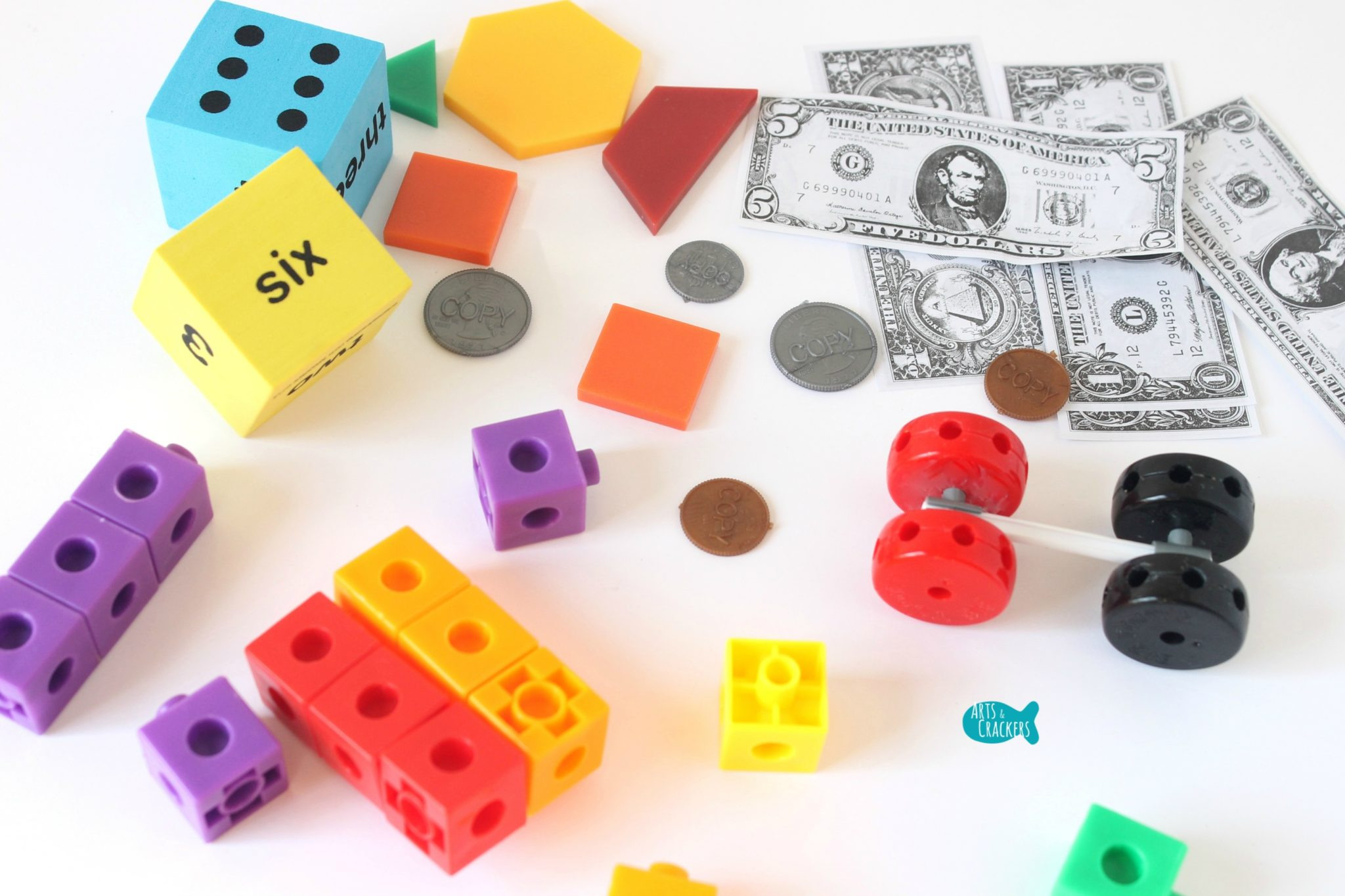 Our Favorite Engineering and Math Manipulatives for Kids