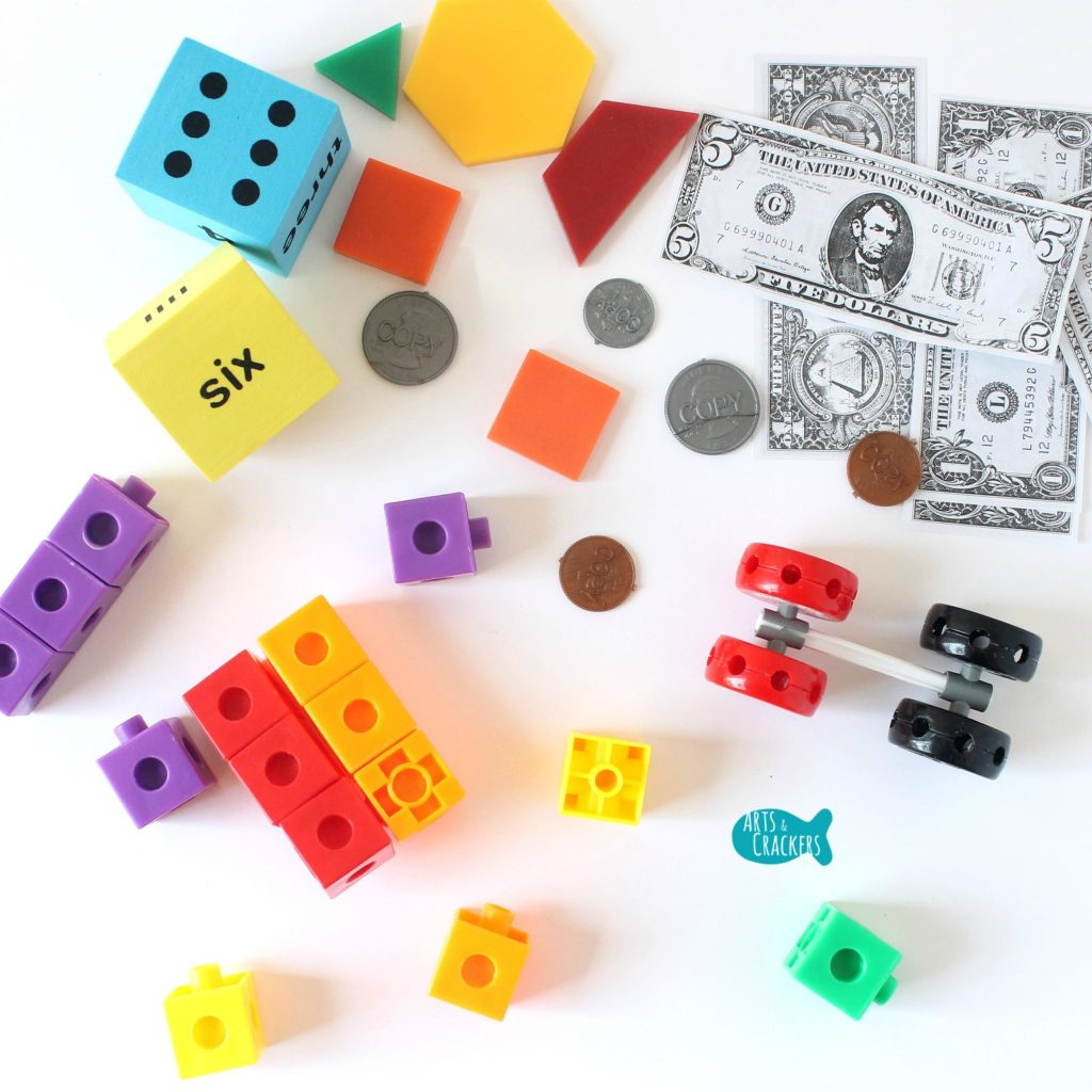 Oriental Trading Math Manipulatives Square