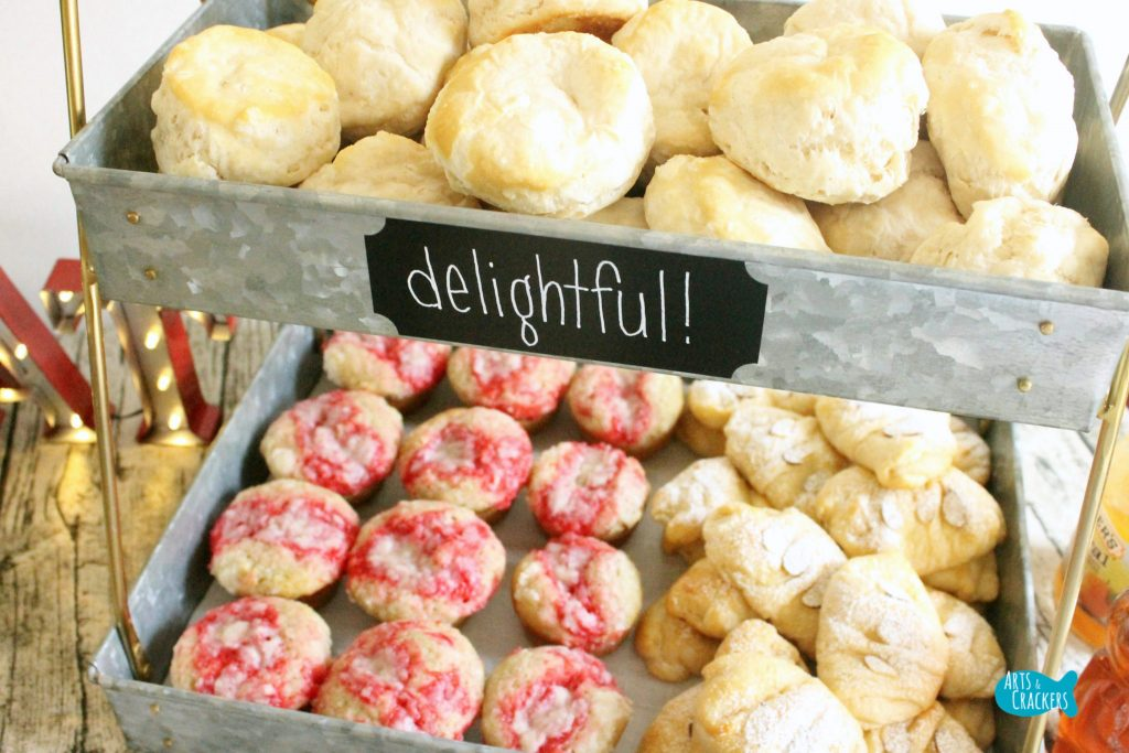 Farmhouse Breakfast Party Muffins Pastries