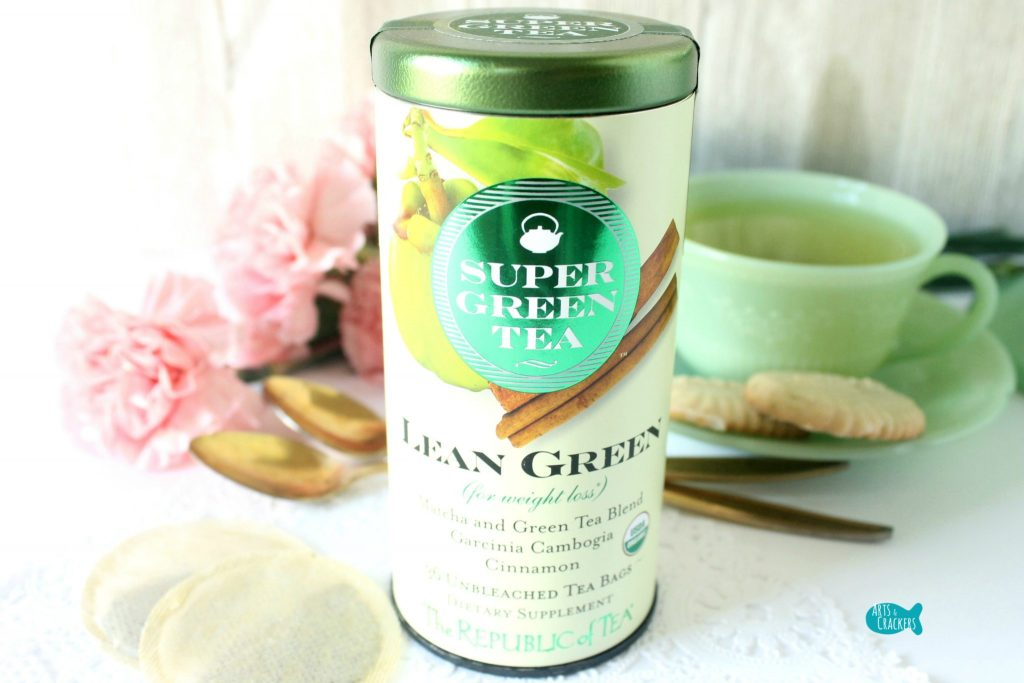 Republic of Tea Super Green Tea Lean Green