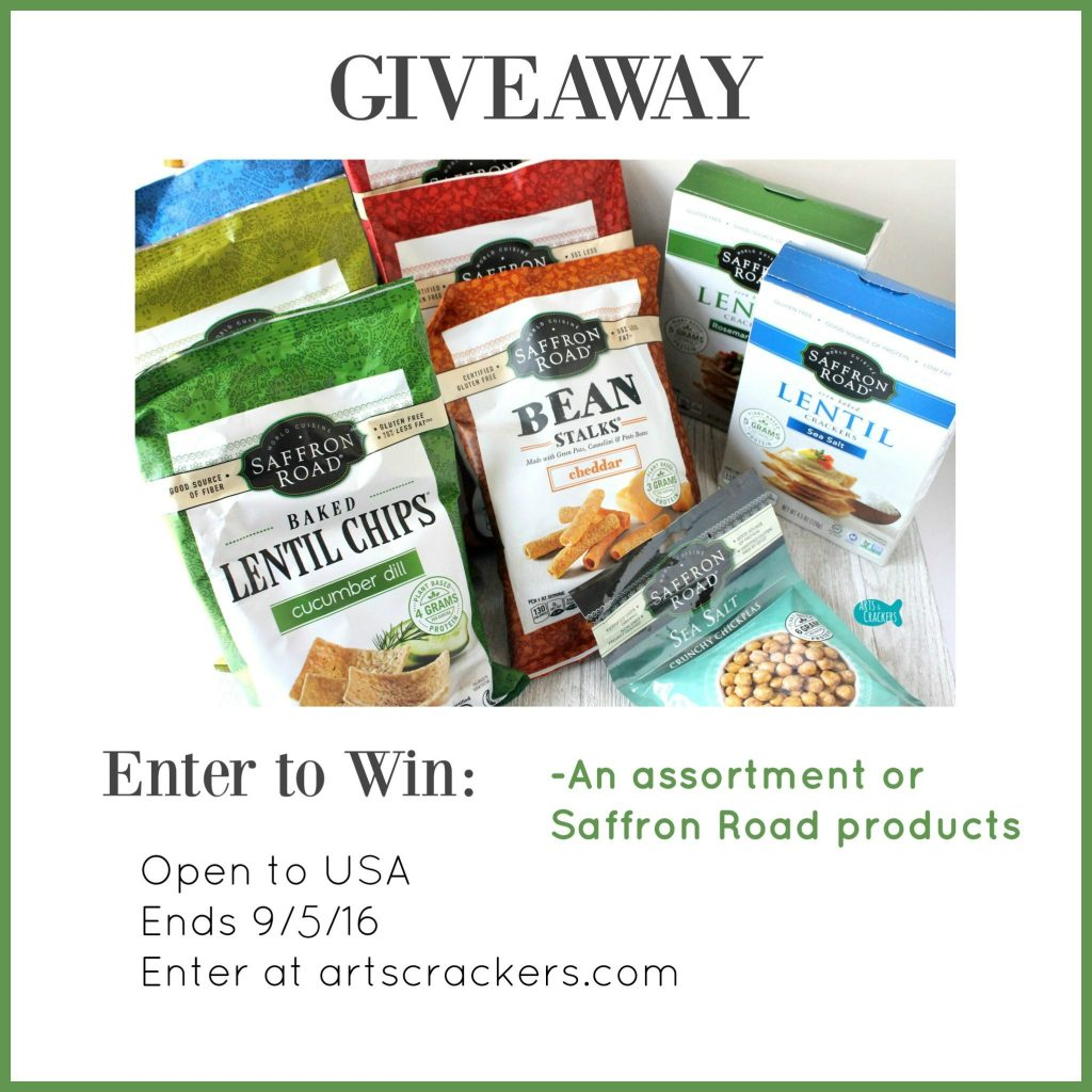 Saffron Road Snacks Giveaway