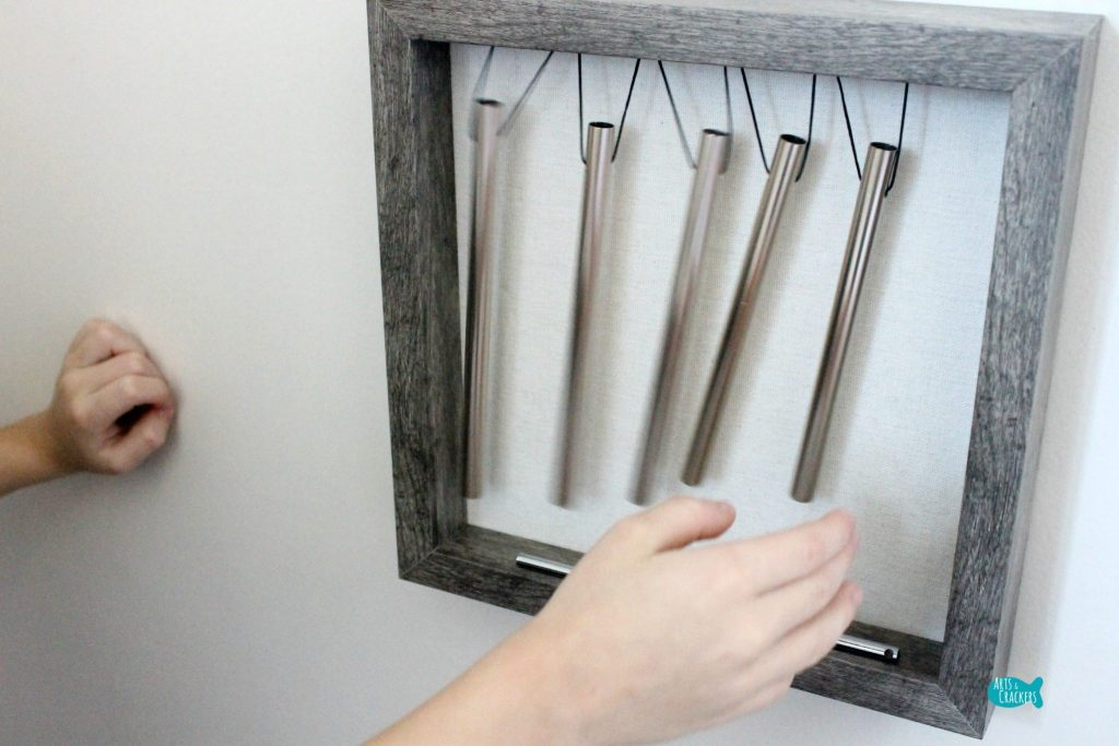 DIY Wind Chimes Hands