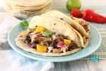 Chili Lime Mango Pork Carnitas Tacos Slow Cooker Recipe